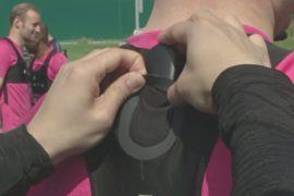 «Умные» устройства помогают футболистам повысить мастерство