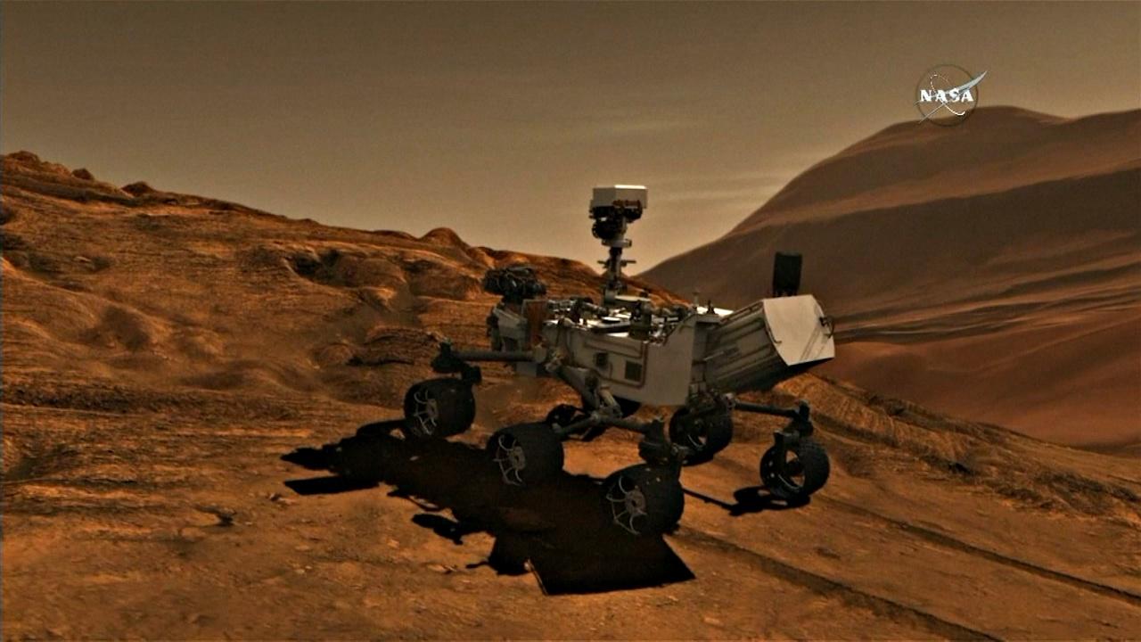 Марсоход Curiosity обнаружил на Марсе органические соединения