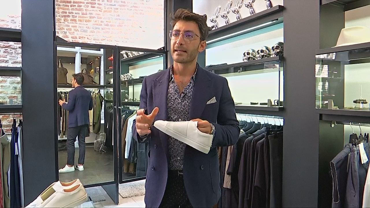 Беженец-дизайнер покоряет Францию роскошными кроссовками