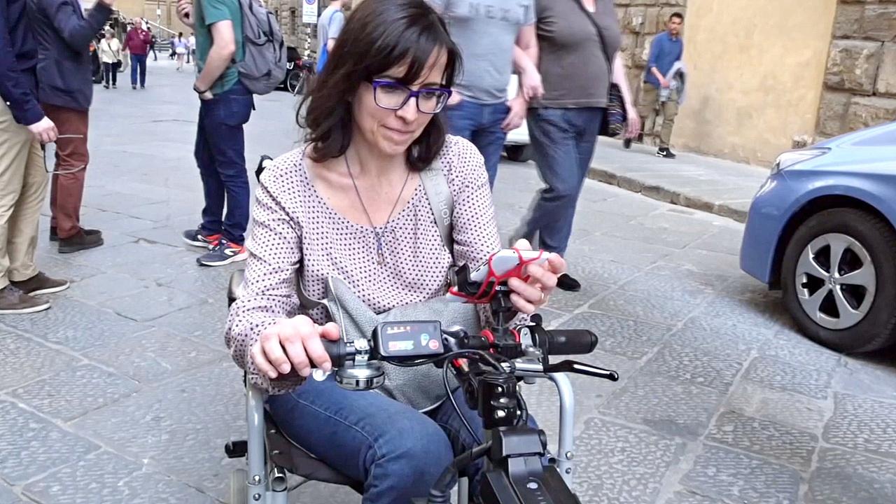 Приложение сделало улицы Флоренции доступнее для людей в инвалидных креслах