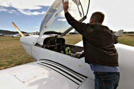 Энтузиаст построил самолёт и пролетит над Австралией