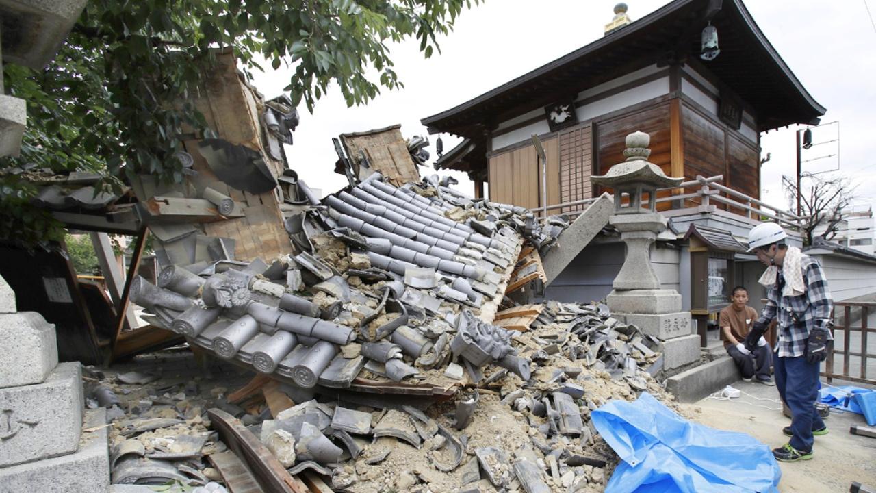 Землетрясение в Осаке: трое погибших