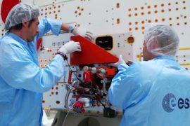 Модуль BepiColombo для изучения Меркурия перевозят на космодром Куру