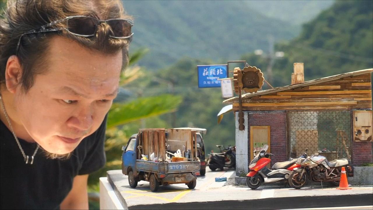 Жизнь в миниатюре: тайванец создаёт реалистичные макеты улиц и домов