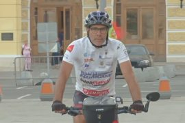 Из Лиссабона в Москву на велосипеде: португалец приехал на ЧМ-2018