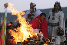 В Боливии встретили 5526-й Новый год