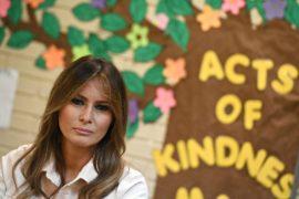 Мелания Трамп нанесла неожиданные визиты в центры содержания детей мигрантов