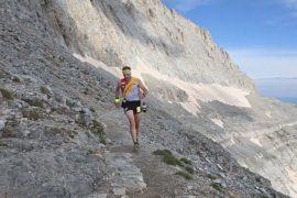 На высочайшей греческой горе Олимп прошёл марафон