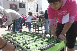 Новый рекорд Гиннесса: 1083 мексиканца одновременно сыграли в настольный футбол