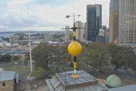 По старинному «шару времени» в Сиднее снова можно сверять часы