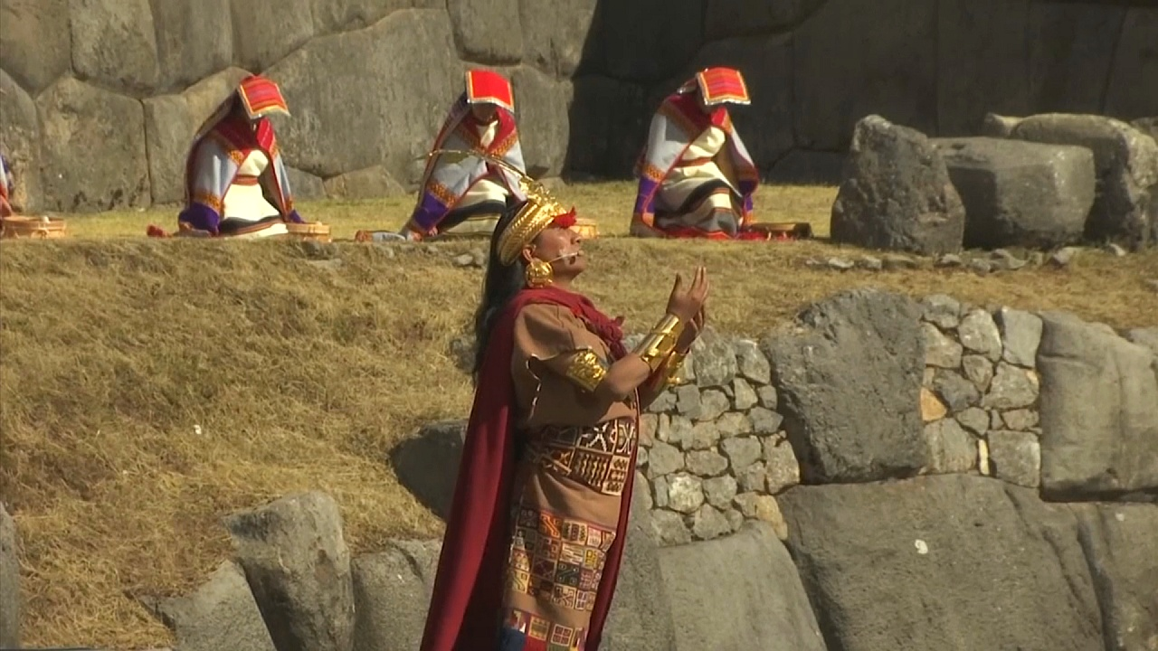 В Куско 700 актёров воссоздали праздник инков «Инти Райми»