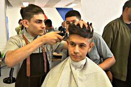 Сиднейские школьники увлеклись парикмахерским искусством