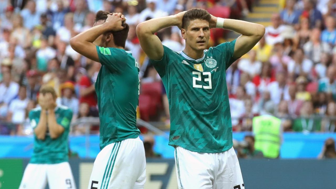 Германия сенсационно вылетела из группы, мексиканцы благодарят южнокорейцев