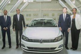 В Руанде с конвейера завода Volkswagen сошёл первый автомобиль