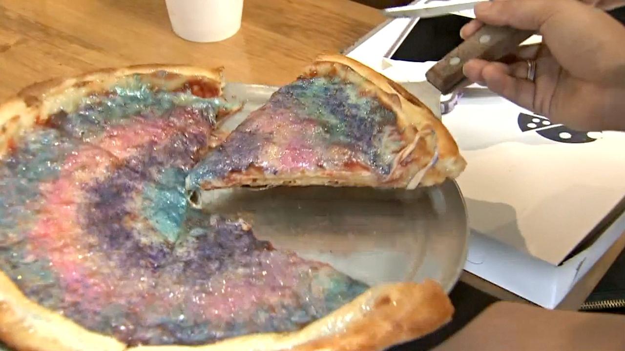 «Магическая пицца» — популярнейшее блюдо ресторана в Калифорнии