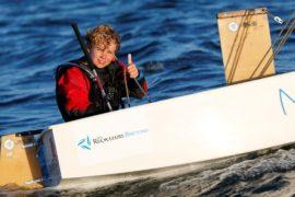 12-летний француз побил рекорд по времени, переплыв Северное море