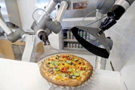 Вытеснит ли робот-пиццайоло традиционных пекарей