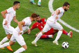 У Туниса — первая победа в матче ЧМ за 40 лет