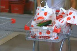 Супермаркеты в Австралии отказались от полиэтиленовых пакетов