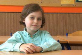 8-летний бельгиец будет поступать в университет
