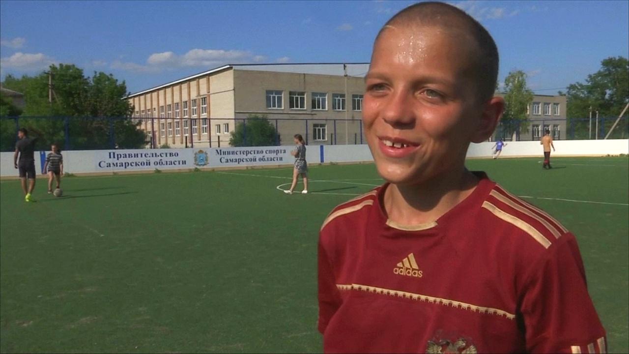Мальчишки из российской глубинки мечтают стать звёздами футбола