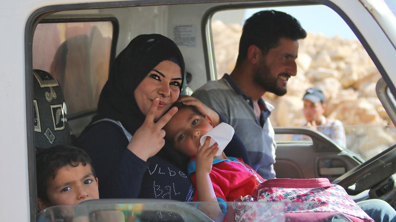 ООН: бежавшие сирийцы покинули зону у КПП с Иорданией