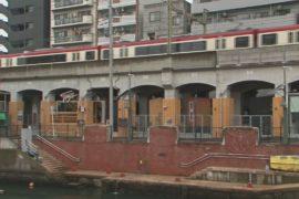 Японский хостел под железнодорожной эстакадой — изюминка для туристов