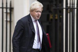 Борис Джонсон ушёл с поста главы МИДа в знак протеста