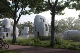 Первый жилой комплекс, напечатанный на 3D-принтере, строят в Нидерландах