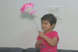 Двухлетняя девочка с феноменальной памятью установила рекорд Индии