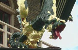 80 драконов вернулись на знаковую пагоду в ботанических садах Лондона