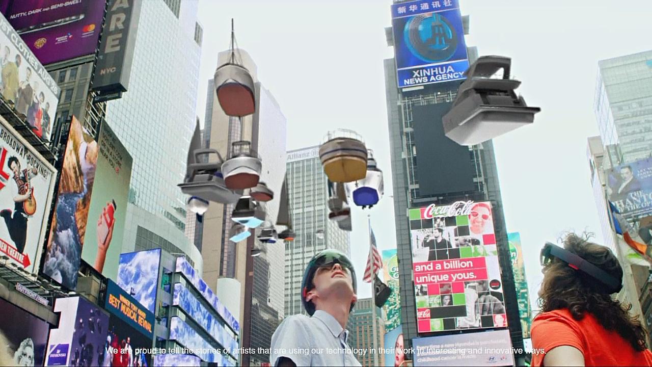 Интерактивная выставка: Манхэттен погрузился под воду