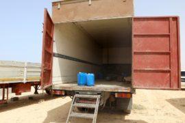В запертой фуре в Ливии нашли 100 мигрантов, 8 из них задохнулись