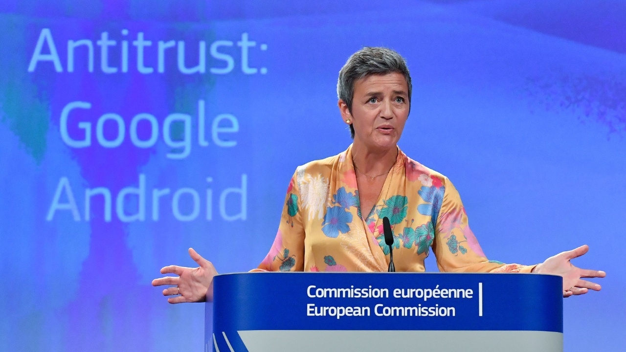 ЕС оштрафует Google на рекордные $5 млрд