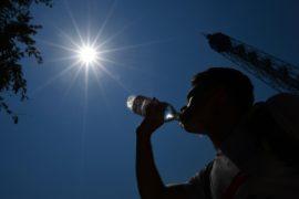 Западная Европа изнывает от жары
