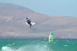 Кайтсёрфинг на Канарских островах собрал лучших в этом виде спорта