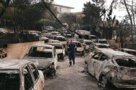 Кипрский пожарный – о Греции: «Такой катастрофы я не видел за 38 лет своей службы»