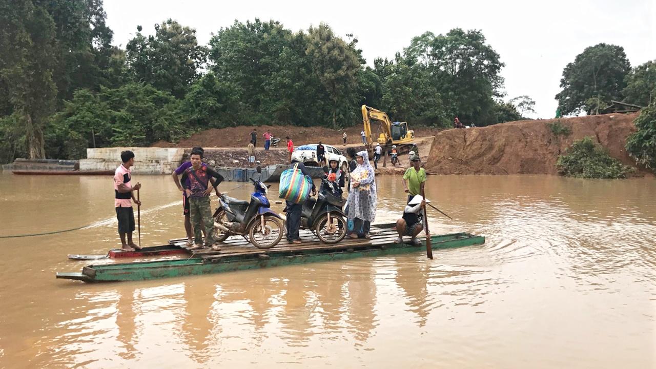 Прорыв плотины в Лаосе: «Мы не смогли выбраться вовремя»