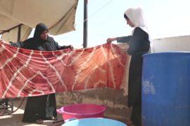 В Иорданской долине хранят природные способы окрашивания ткани