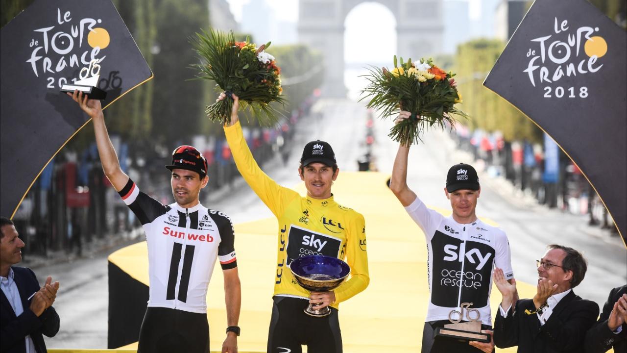 Сотни поклонников встретили победителя «Тур де Франс 2018»