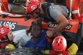 Не менее 1500 мигрантов погибли в Средиземном море в 2018 году
