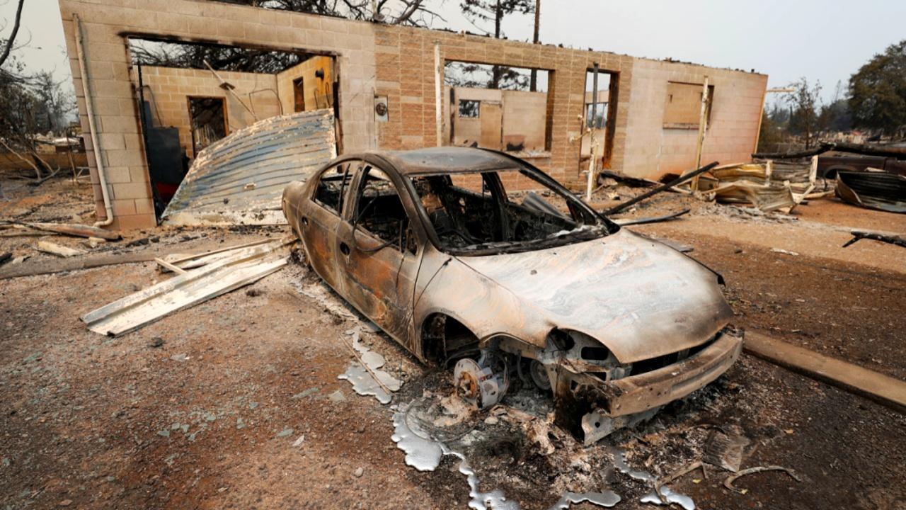 Пожары в Калифорнии сдержать не удаётся