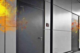 Двери, способные противостоять пожару