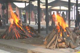 Сжигать умерших в Индии предлагают не на дровах, а на коровьем навозе
