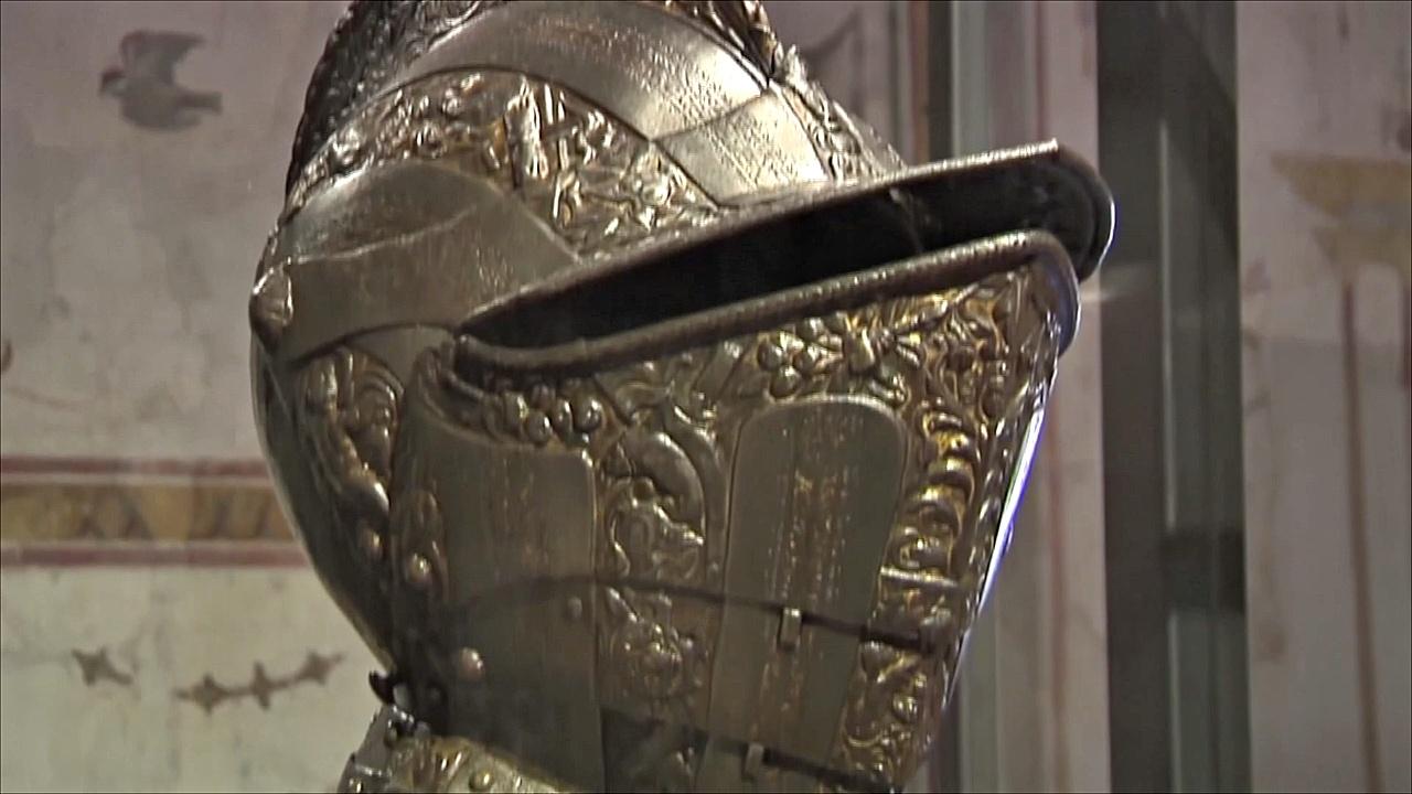 Оружие Ренессанса показывают на выставке в Риме