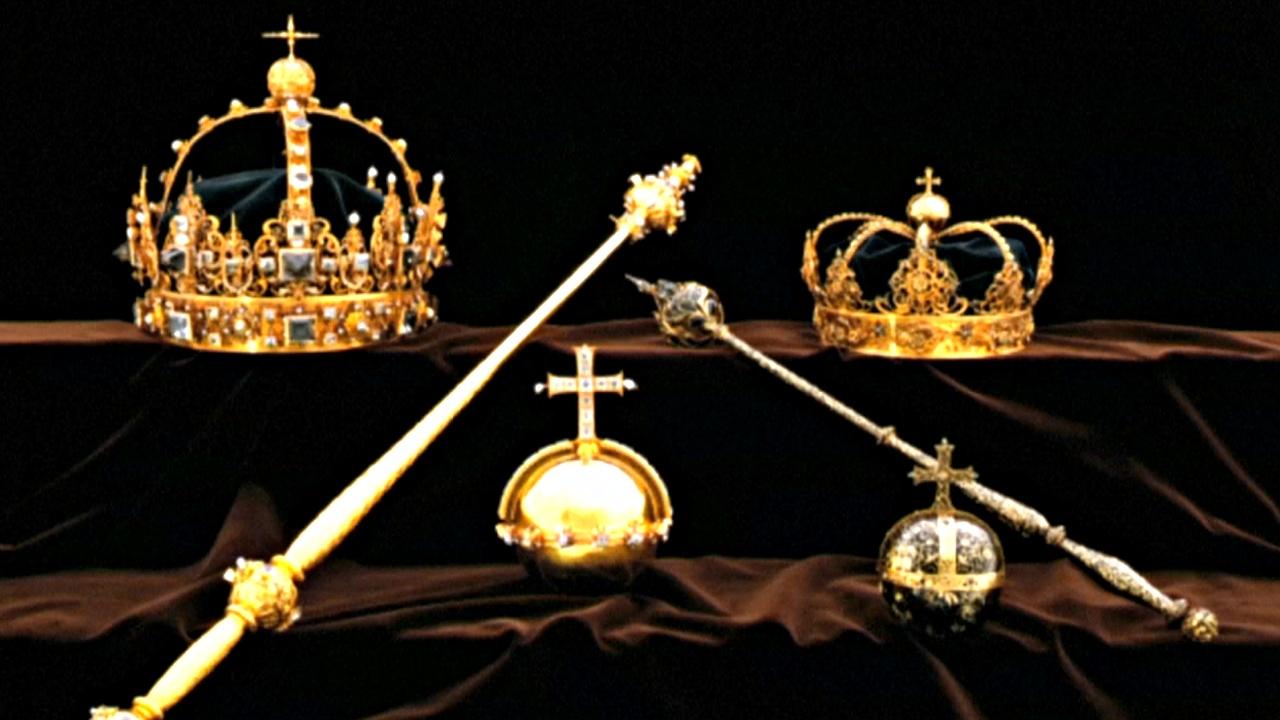 В Швеции похитили две королевские короны и державу XVII века