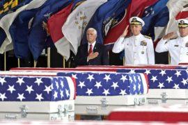 КНДР передала США первую партию останков солдат, погибших в Корейской войне