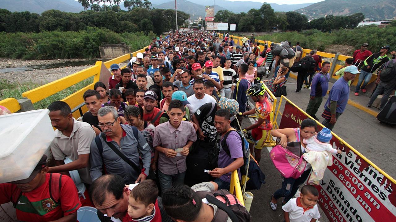 Колумбия на 2 года приняла 440 000 венесуэльских мигрантов