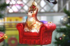 В лондонском универмаге открылась рождественская ярмарка
