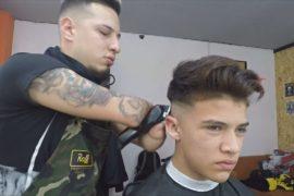 Парикмахер без рук — звезда Аргентины